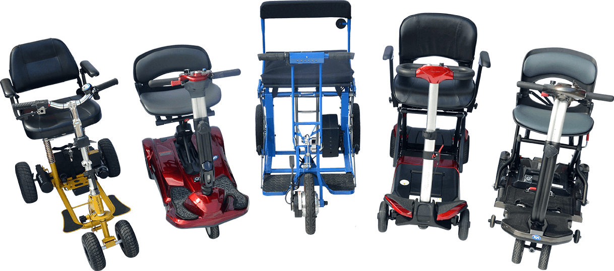 Five Lightweight Scooters
